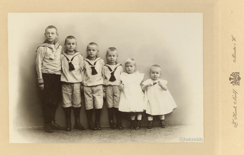 Children in  Photostudio,c.1890