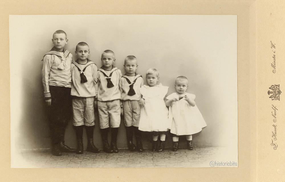 Children in  Photostudio,c.1890