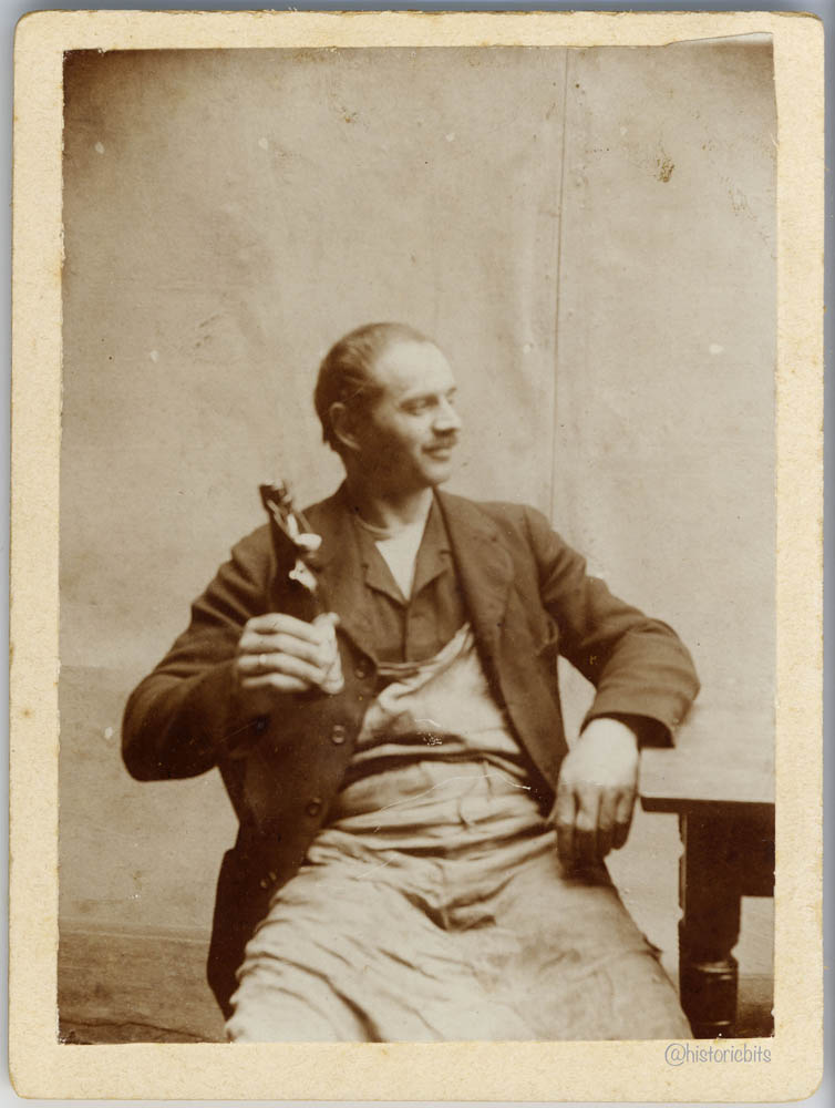 Worker with Beer,c.1900,Germany