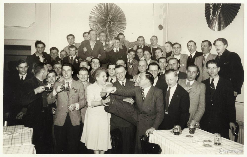 Feier ca.1950,germany