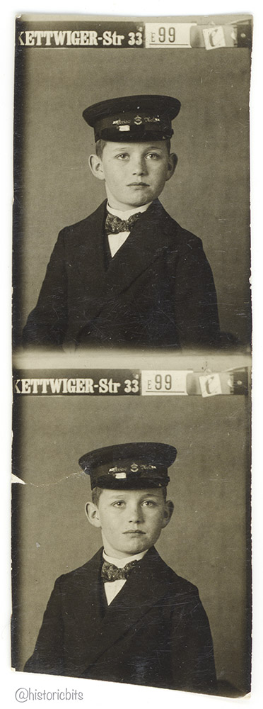 c.1920,Photo Booth,Essen,Germany