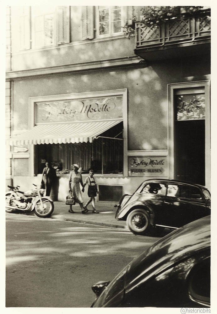 Streetscene 1951,Bad Kissingen