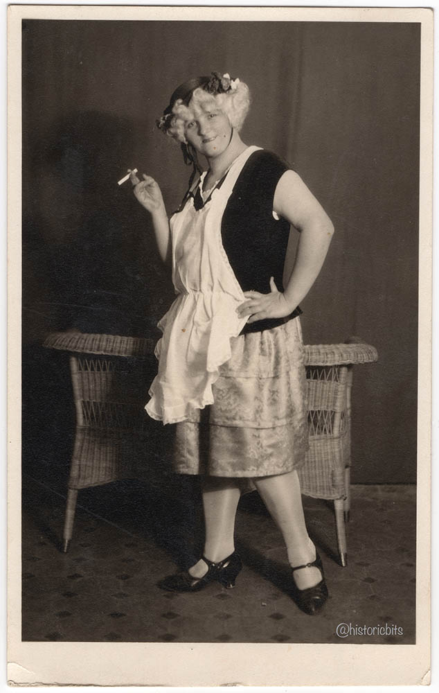 costumed woman,germany,c1920