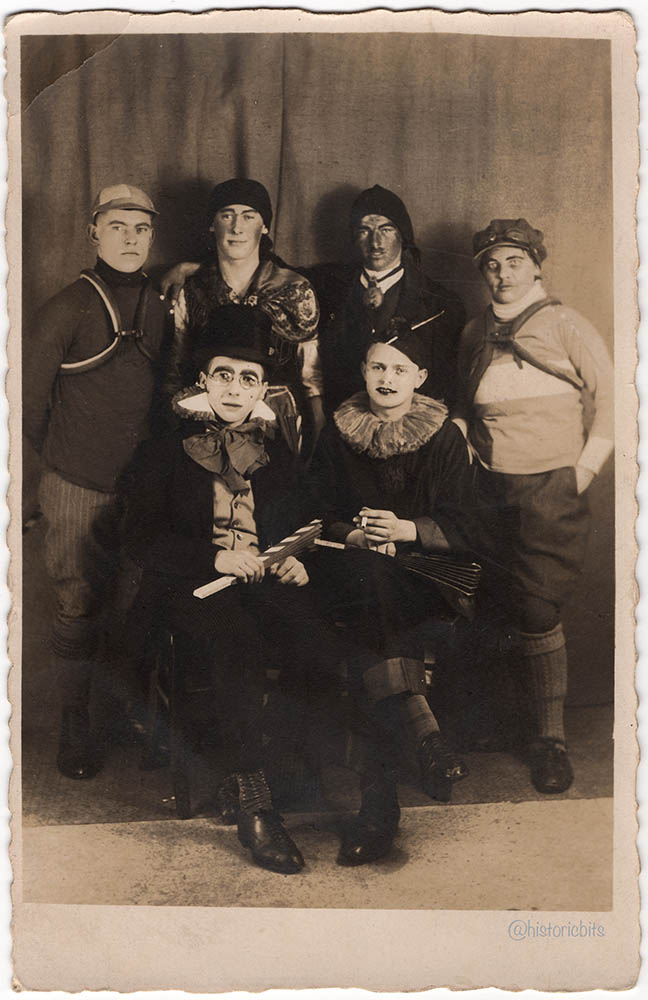 costumed,Germany,c.1920,Karl Mader Augsburg