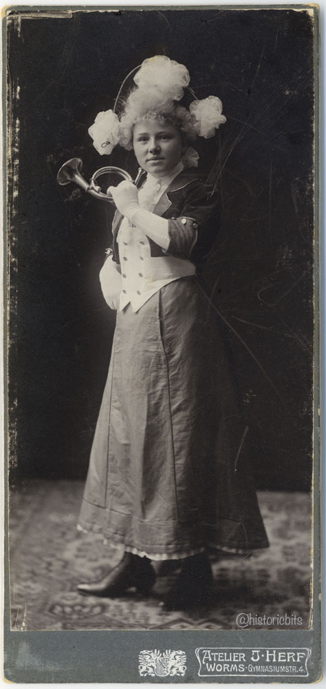 Christel von der Post, ca. 1900,Germany