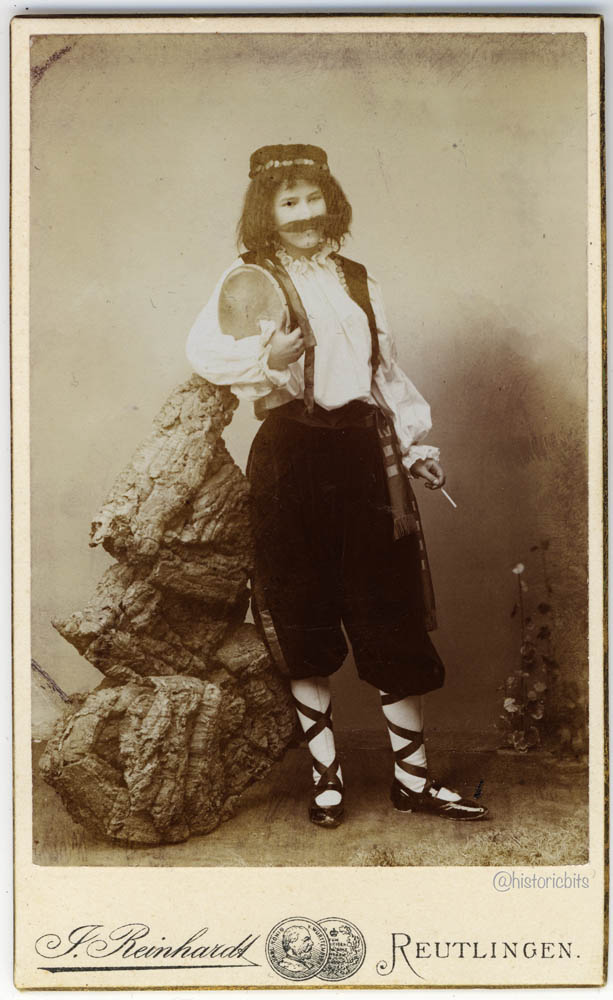 Actress,Germany,c.1890