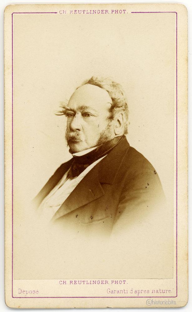 Charles Paul de Kock, Novelist, by Ch. Reutlinger, Paris, ca. 1870