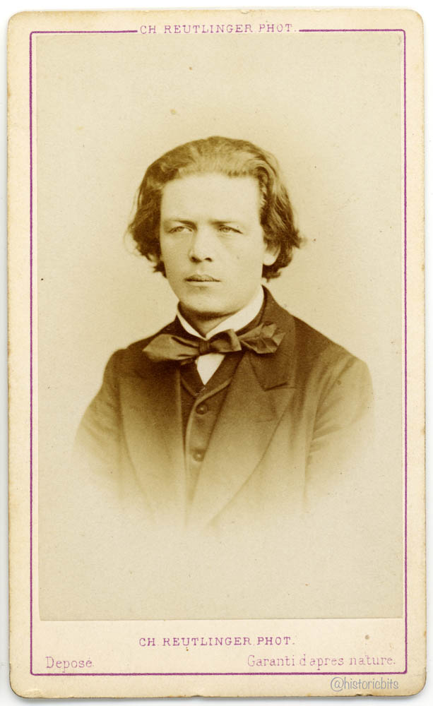 Anton Rubinstein,Musician,by Ch. Reutlinger, Paris, ca. 1870