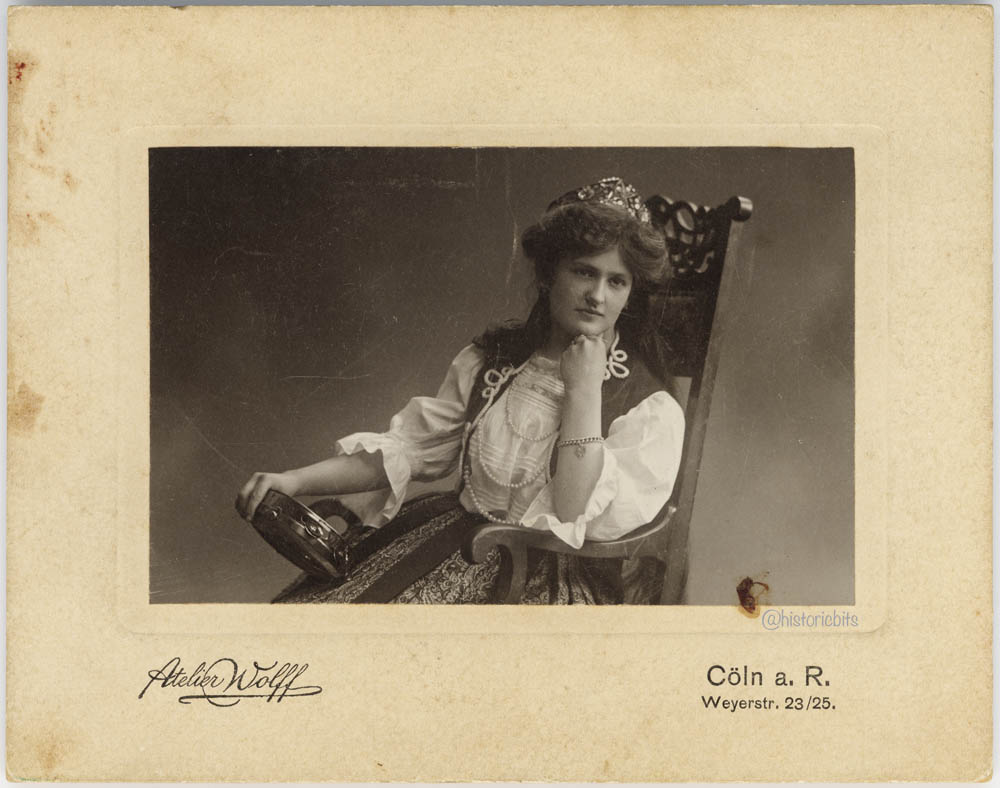 Actress,Germany,c.1900