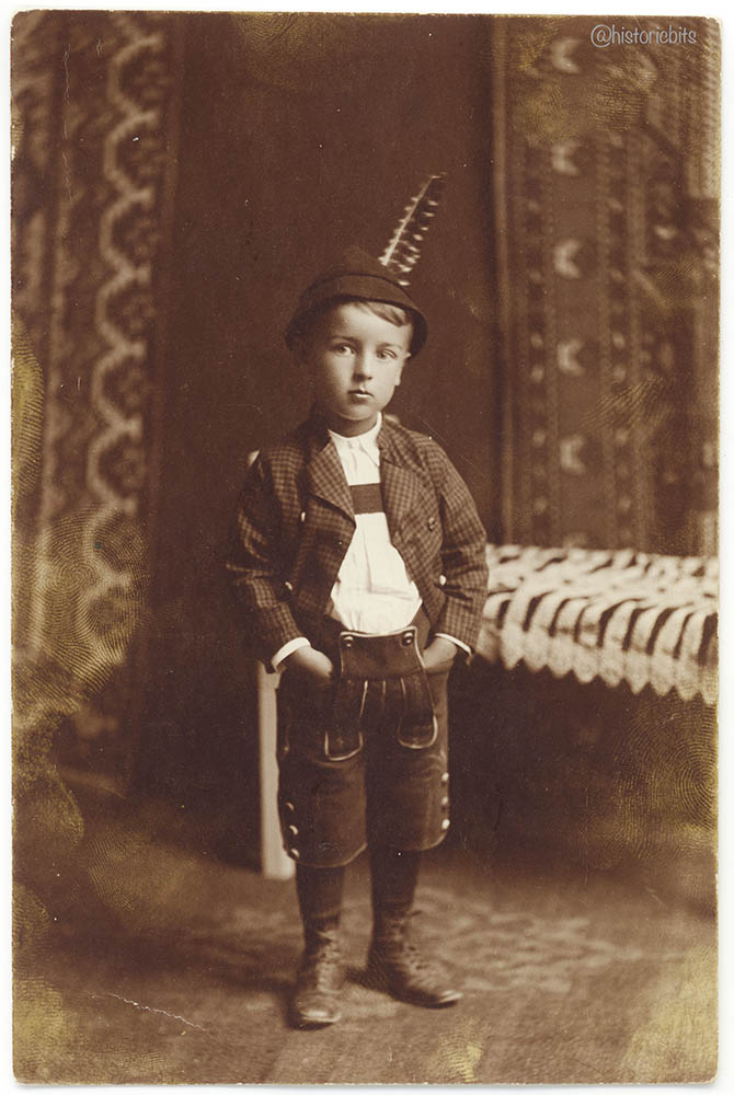 Child in traditional Garb,1916