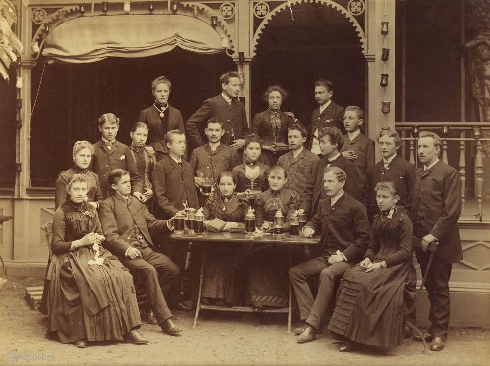 Group Picture, Germany, 1890