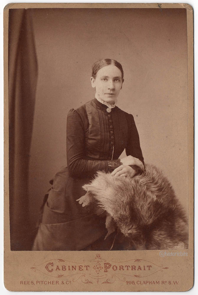 Victorian Lady,Photostudio Rees,Pitcher&Co.,London, c.1880