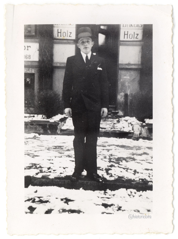 Young Man with Suit,Germany,c.1930s