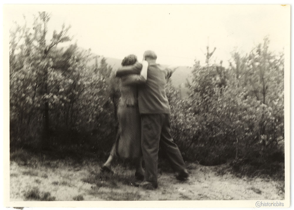 Snapshot of a couple,Germany c.1950