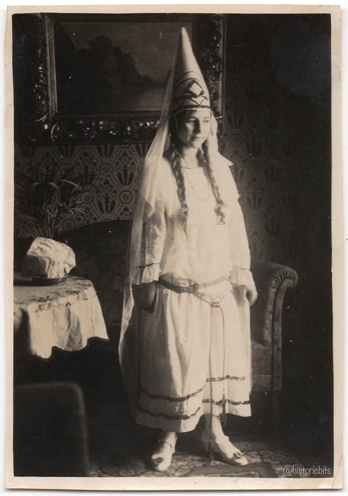 woman in costume.germany,c.1920