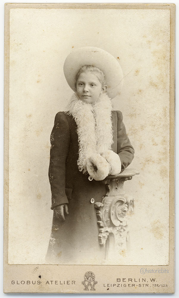 Child in Winter Clothes,Germany,c.1900