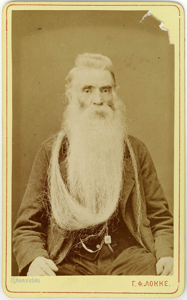 Bearded Man,H.Locke,Dresden,c.1880