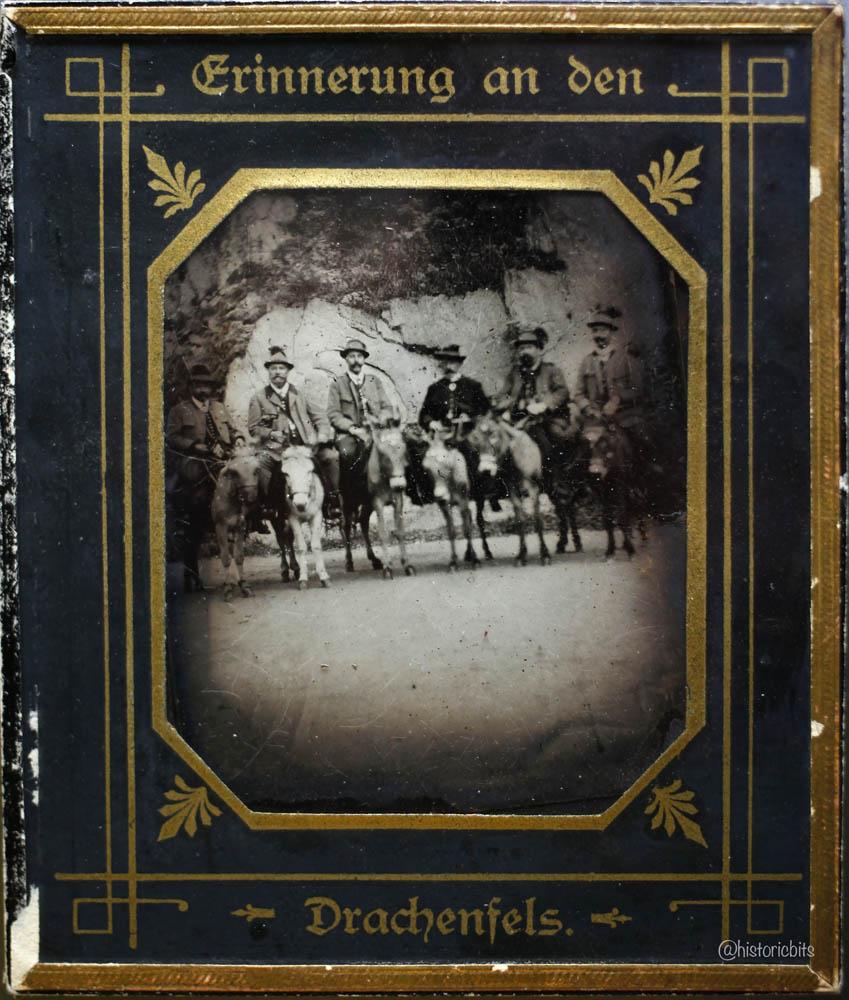 On the Donkey,Germany,c.1900