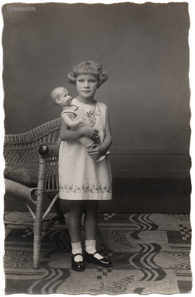girl with doll,germany 1931