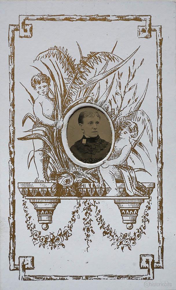Gem Size Tintype,UK,c.1880