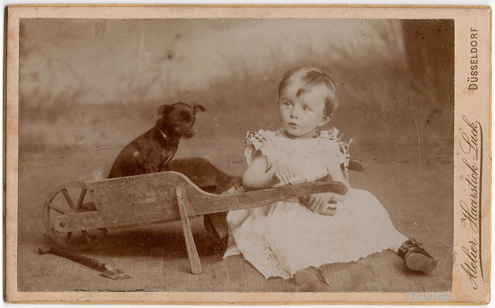 child-dog-cart-Atelier Haarstick_Luck,Duesseldorf