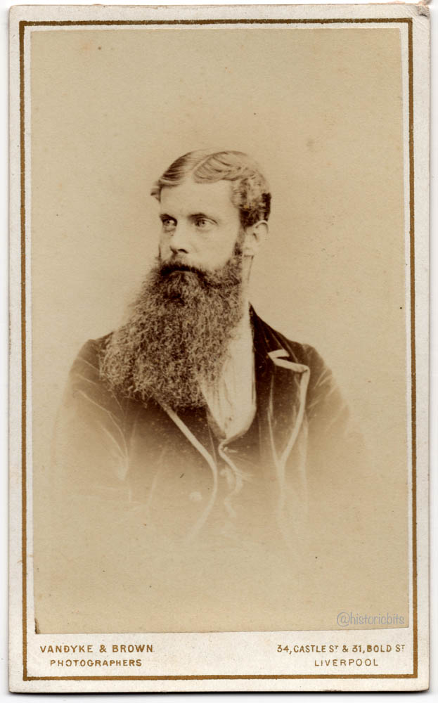 Man with Beard,Liverpool,UK,c,1870