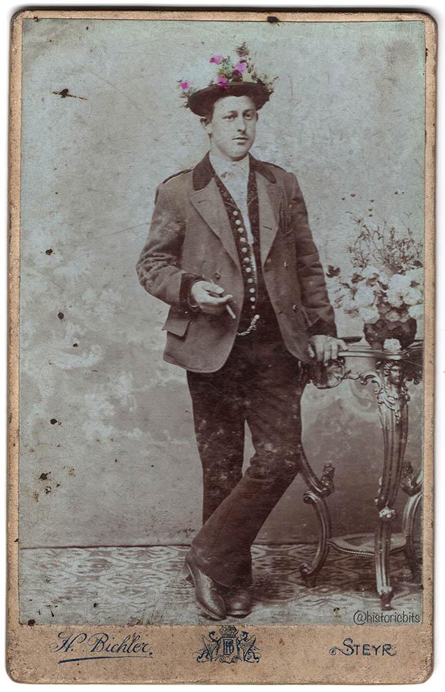 H Bichler,Steyr,Austria,c1890